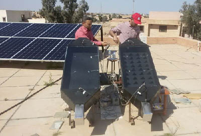 Design and Manufacturing of a Solar Dryer at the Centre of Renewable Energy